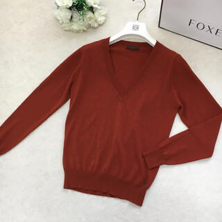 LOEWE - 【美品】LOEWE ロエベ  カシミヤ100% アナグラム Vライン セーター