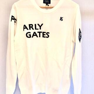 PEARLY GATES - 2021春物新作パーリーゲイツ ウールカシミア ウィメンズセーター サイズ2