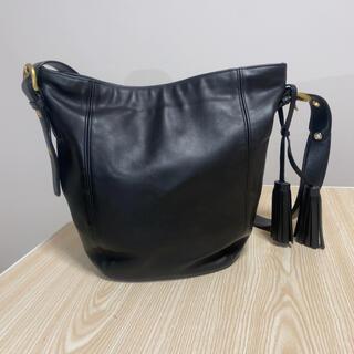 【COACH】オールドコーチ タッセルチャーム  外国製 ショルダーバッグ