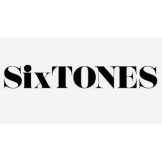 ジャニーズ(Johnny's)の車ステッカー SixTONES(車外アクセサリ)