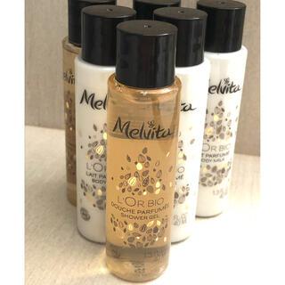 メルヴィータ(Melvita)の新品 メルヴィータ  ロルビオ シャワージェル&ボディミルク40ml 6本(ボディローション/ミルク)