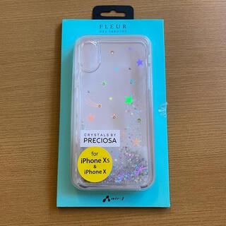 【新品】FLEUR  XS X iPhoneケース(iPhoneケース)