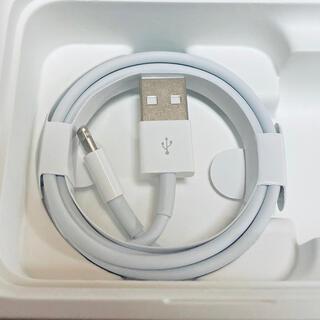 アップル(Apple)のiPhone充電器 Apple純正ライトニングケーブル 1m 送料無料(バッテリー/充電器)