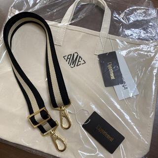L'Appartement DEUXIEME CLASSE - 新品 タグ付き AME Tote Bag L  Border belt セット