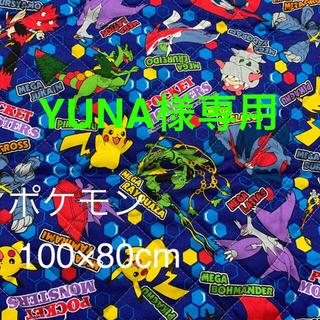 ポケモン - ポケモン キルト キルティング生地 80×100cm  kokka
