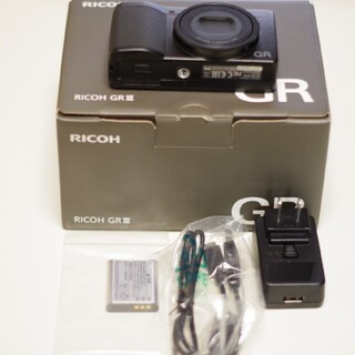 RICOH - 撮影画像あり★美品RICOH GRIII GR 3