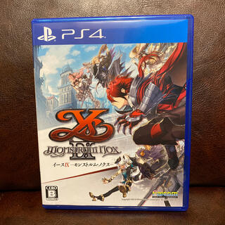 PlayStation4 - イースIX -Monstrum NOX- PS4