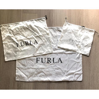 Furla - FURLA ショップ袋 保存袋 布袋 3点セット