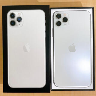 アイフォーン(iPhone)のiPhone 11 Pro Max シルバー 512 GB SIM フリー(スマートフォン本体)
