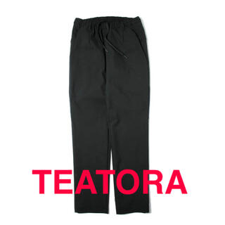 COMOLI - TEATORA Wallet Pants OFFICE SM BLACK 3