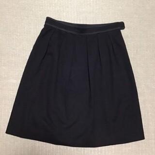 クミキョク(kumikyoku(組曲))の組曲 スカート ブラック 黒 フォーマル サイズ1(ひざ丈スカート)