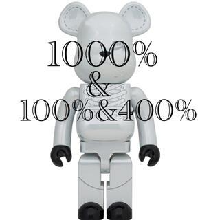 メディコムトイ(MEDICOM TOY)のfrmjpn様専用 ベアブリックNIKE SB 2020 WHITE セット売り(キャラクターグッズ)