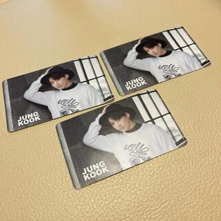 防弾少年団(BTS) - BTS RUN 個別握手会 ジョングク カード お渡し会