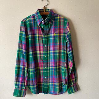 Ralph Lauren - ラルフローレン ネル地♡コットンシャツ 未使用品