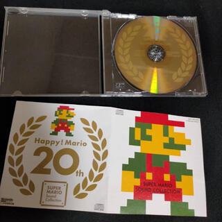 ニンテンドウ(任天堂)のスーパーマリオ 付録 レア CD サウンドトラック サントラ(ゲーム音楽)