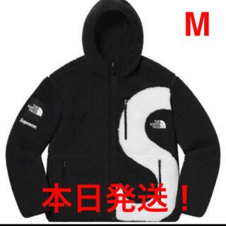 Supreme - Supreme S Logo Hooded Fleece Jacket 黒 M