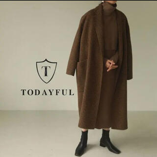 TODAYFUL - TODAYFUL オーバーチェックコート