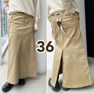 L'Appartement DEUXIEME CLASSE - GOOD GRIEF グッドグリーフ Chino Skirt チノスカート 36