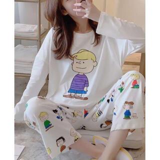 男の子柄★大人気 新品 パジャマ♪レディース  部屋着 セットアップ(パジャマ)