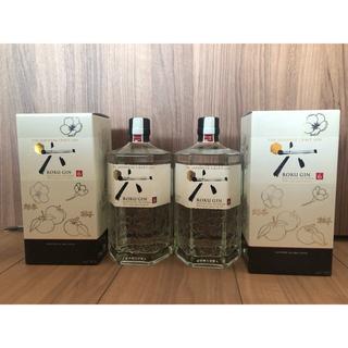サントリー(サントリー)のサントリージン 六-ROKU- 700ml箱付 2本(蒸留酒/スピリッツ)