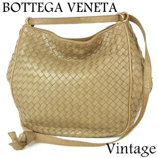 Bottega Veneta - ボッテガヴェネタ ヴィンテージ イントレチャート ショルダー バッグ