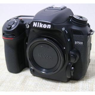 Nikon - NiKON D7500 ボディ Wi-Fi&Bluetooth搭載