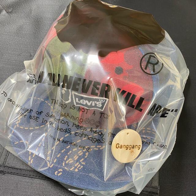 A BATHING APE(アベイシングエイプ)のBAPE LEVI'S MULTICOLOR CAMO CAP キャップ 帽子 メンズの帽子(キャップ)の商品写真