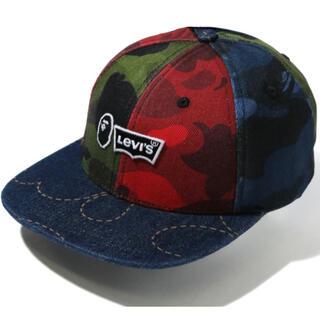 A BATHING APE - BAPE LEVI'S MULTICOLOR CAMO CAP キャップ 帽子