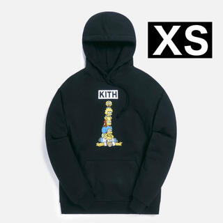 KITH FOR THESIMPSONS FAMILY STACK HOODIE(パーカー)