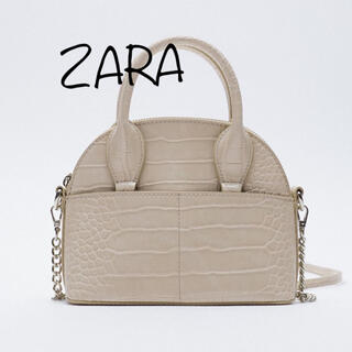 ZARA - ZARA アニマル柄ボストンバッグ
