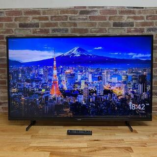 2018年製! 55V型 4K 液晶テレビ JU55SK04 外付けHDD録画○