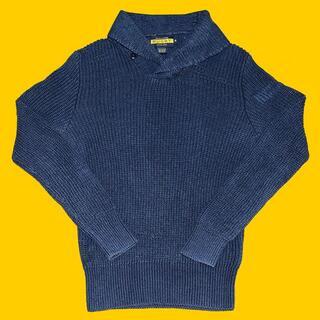 Ralph Lauren - RUGBY ラルフローレン ショールカラー インディゴ ニット セーター