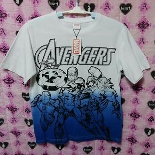 マーベル(MARVEL)の最新MARVELアベンジャーズTシャツL(Tシャツ/カットソー(半袖/袖なし))