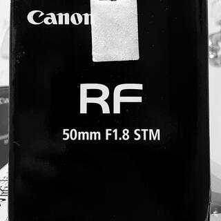Canon - キヤノン Canon RF50mm F1.8 STM 新品未使用