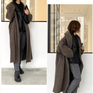 L'Appartement DEUXIEME CLASSE - アパルトモン HAVEL studio RACCON KNIT COAT