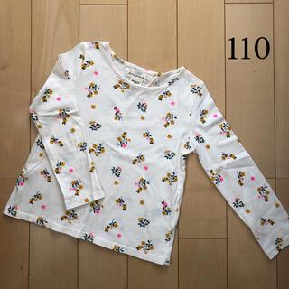 エイチアンドエム(H&M)の花柄ロンT  長袖 小花柄(Tシャツ/カットソー)