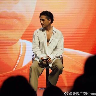 オーバーサイズシャツ 登坂広臣さん着用同型 白 ホワイト