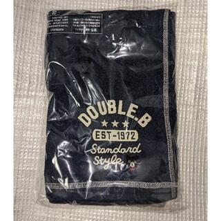 DOUBLE.B - ミキハウスダブルB新品140cmタオル生地パンツ
