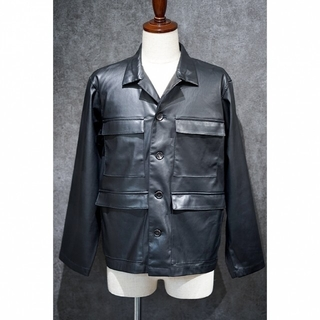 SUNSEA - ATHA 20AW FAKE LEATHER FIELD JACKET