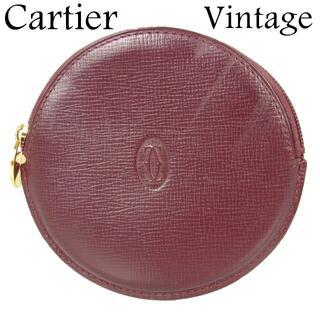 カルティエ(Cartier)の専用 カルティエ ヴィンテージ 2C ラウンド コインケース 小銭入れ 財布(コインケース)