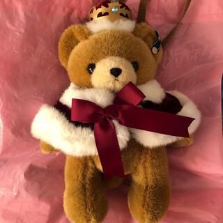 アンジェリックプリティー(Angelic Pretty)のcrown bear ぬいぐるみポーチ ワイン(ぬいぐるみ)
