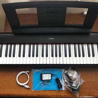 ヤマハ - YAMAHA 電子ピアノNP-32B ヘッドホン、iPhone用USBケーブル付