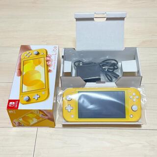 Nintendo Switch - 美品 ニンテンドー スイッチ ライト Switch Lite 本体 イエロー