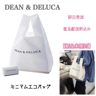 DEAN & DELUCA - 【新品未開封】DEAN&DELUCA ミニマム エコバッグ ホワイト