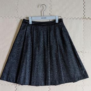 クミキョク(kumikyoku(組曲))の組曲 ウールスカート Mサイズ クログレー(ひざ丈スカート)