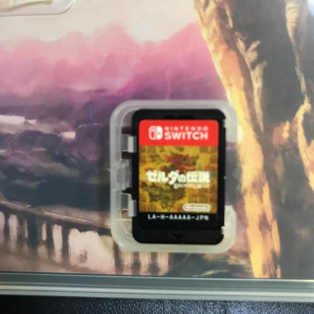 Nintendo Switch(ニンテンドースイッチ)のゼルダの伝説 ブレス オブ ザ ワイルド Switch エンタメ/ホビーのゲームソフト/ゲーム機本体(家庭用ゲームソフト)の商品写真