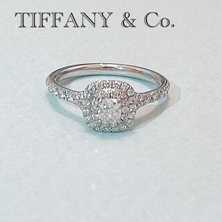Tiffany & Co. - TIFFANY & Co. ソレスト エンゲージリング ハリーウィンストン