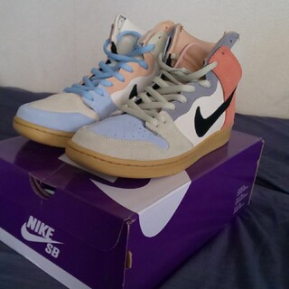 NIKE - 【中古・美品】NIKE SB DUNK HIGH EASTER SPECTRUM