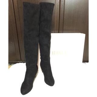 イーボル(EVOL)の美品  EVOL  ロングブーツ(ブーツ)