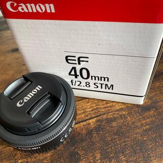Canon - 【新品同様】Canon EF40mm F2.8 STM